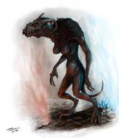 Demon female by Gwallchmai