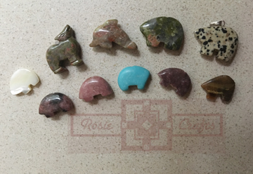 Precious Animal Stones by rosiecrafts