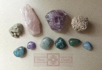 Rosie Crafts Precious Stone Collection by rosiecrafts
