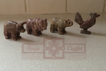 Totem Energy Animal Stones by rosiecrafts