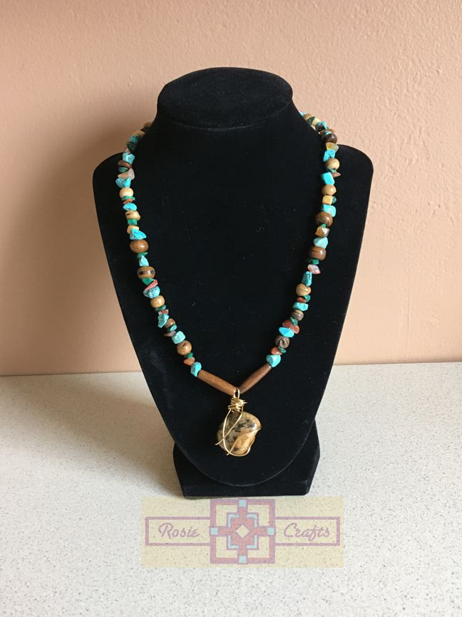 Artisan Tribes Tiger's Eye Necklace by rosiecrafts