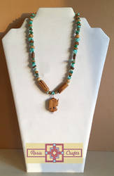Artisan Tribes Tribal Elephant Necklace by rosiecrafts