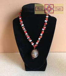 Artisan Tribes Precious Stone Necklace by rosiecrafts