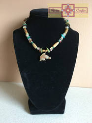 Artisan Tribes Dolphin Necklace by rosiecrafts