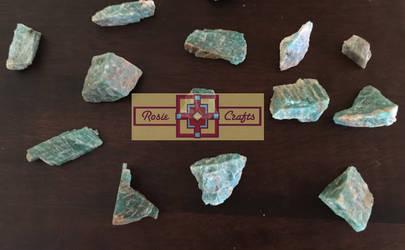 Artisan Tribes Amazonite Precious Stones by rosiecrafts
