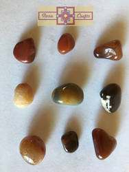 Artisan Tribes Agate Precious Stones by rosiecrafts