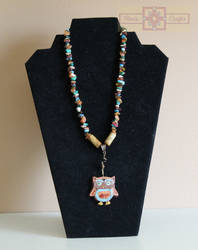 Artisan Tribes Spirit Owl Necklace