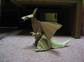 dragon of origami by Aoth