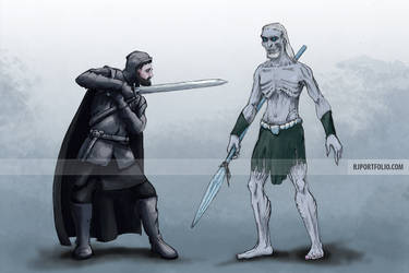 A Soldier and a Walker