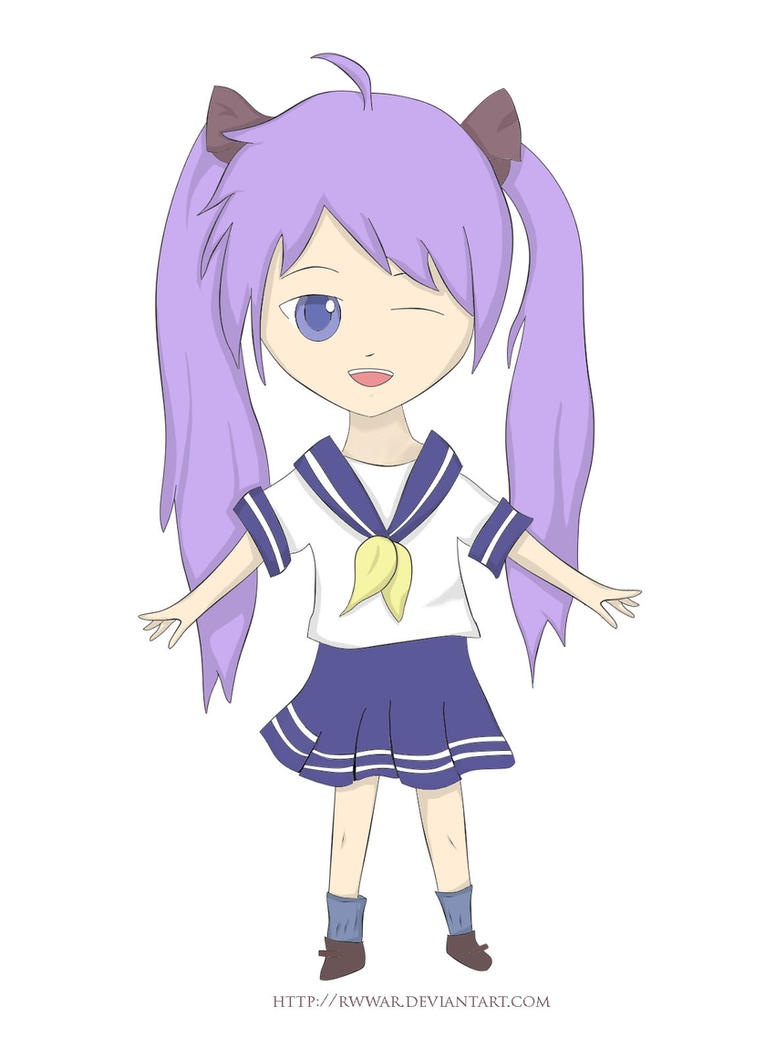 Lucky Star: Kagami! by Rwwar on deviantART