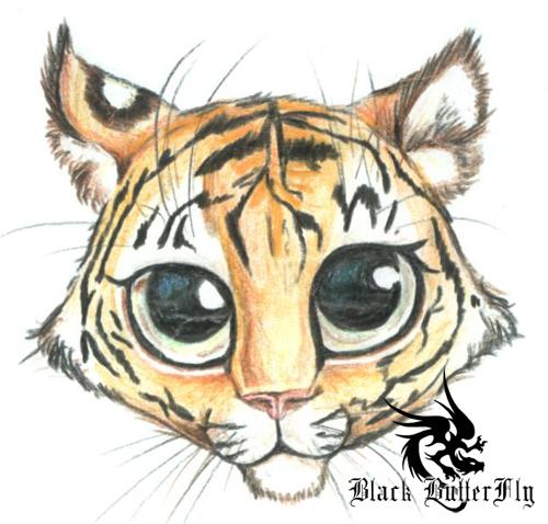 Cute Tiger Sketches