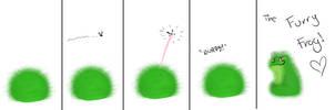 Furry Frog by Devilsinc53