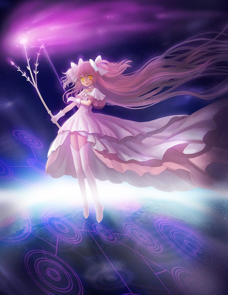 goddess of puella magi by chalii