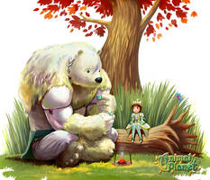bear and beetle