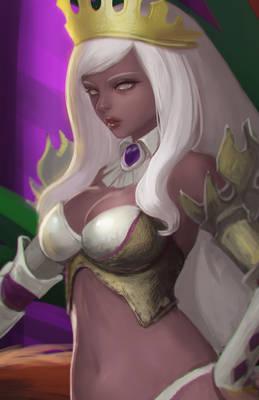 Royal blood woman