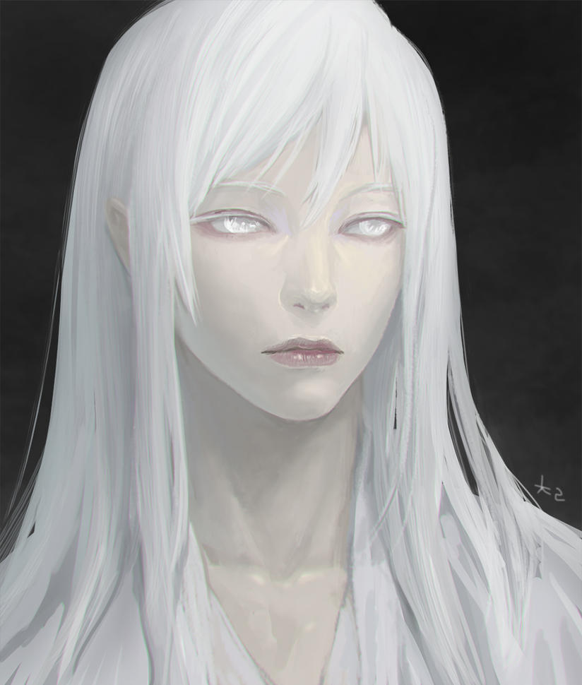 White Face By Chalii On Deviantart