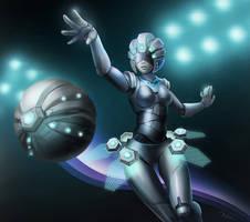 Cyborg Orianna by chalii