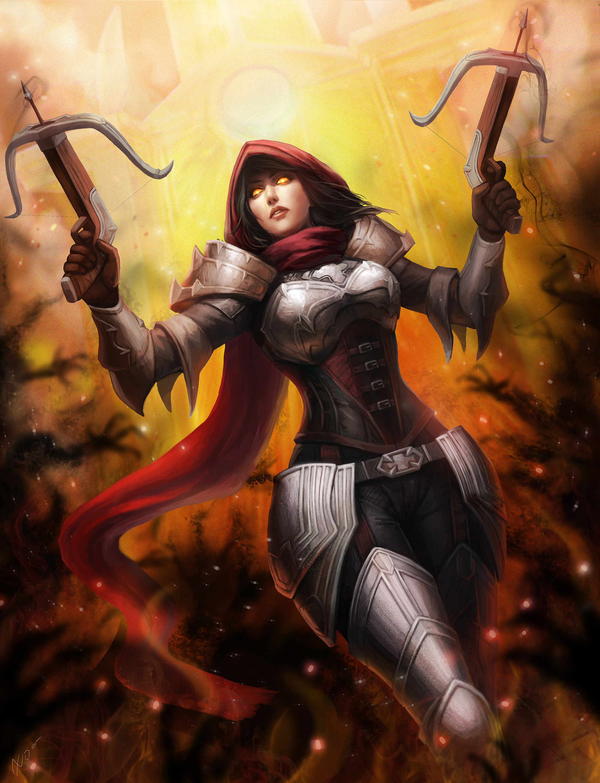 Diablo 3 :Demon Hunter by chalii