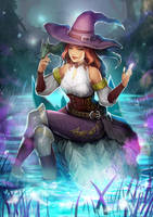Witch, the Dragon Trainer by chalii