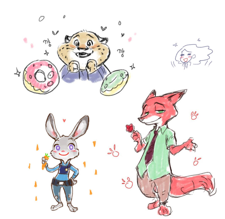 Zootopia by chalii
