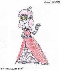PvZ2 - Penny as a Humanoid Robot by CrazyPlantMae