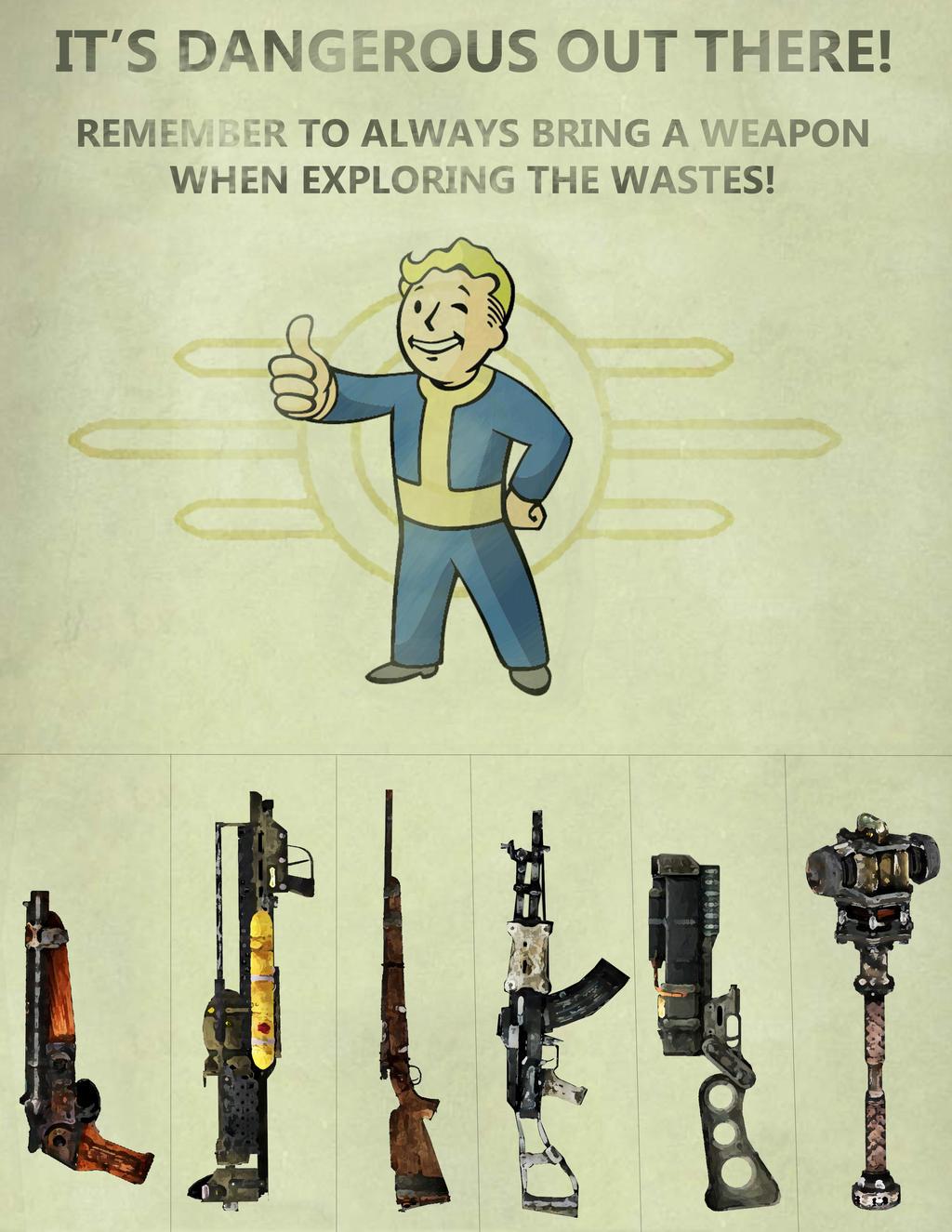 Fallout pull-tab flyer by Contumacious-Aeron on DeviantArt