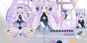 [OPEN] Adoptable No. 23- Character Design: Bubbles by ShizunneArts