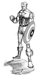 Captain America by Legate