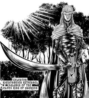 Celestor, Paladin of Thil Ganir, the Elven King