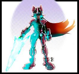 Megaman fanart by Legate