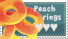 Peach rings stamp by anna-becca7