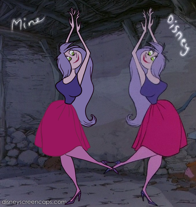 The Sword in The Stone - Mad Madam Mim HD - YouTube