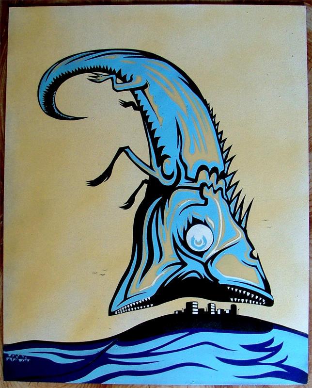devourer stencil by tomasbrechler