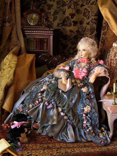Madame de Pompadour by aprillee