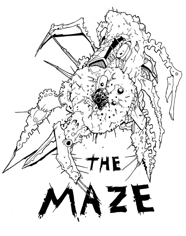 Maze Runner Coloring Pages. 426 best mazerunner images on pinterest ...