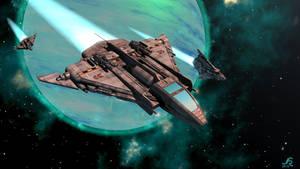 Achernar ship study 2