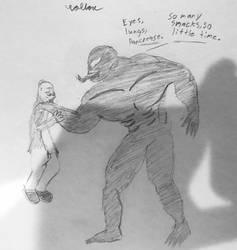 Venom - So Many Snacks by ColtonDHoff