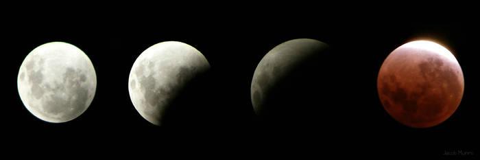 Lunar Eclipse - December 2011 by Shutter-Shooter