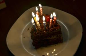 my birthday cake. by Shutter-Shooter