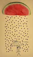 it's raining seeds! hallelujah! by Shutter-Shooter