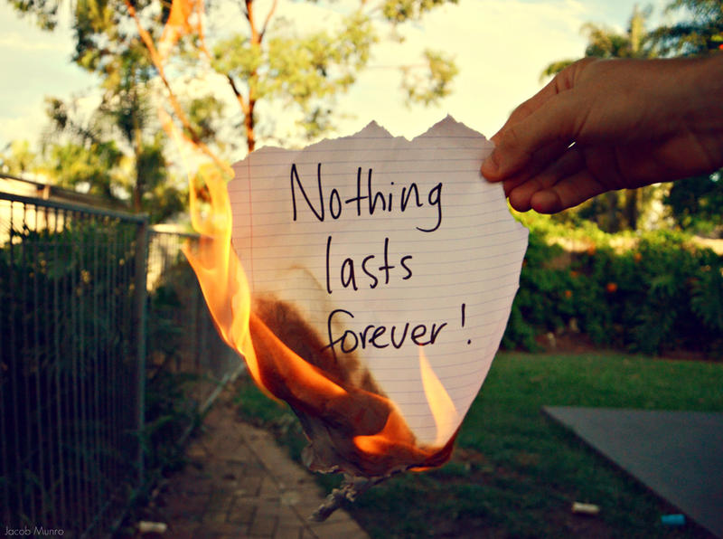 nothing lasts forever. by Shutter-Shooter