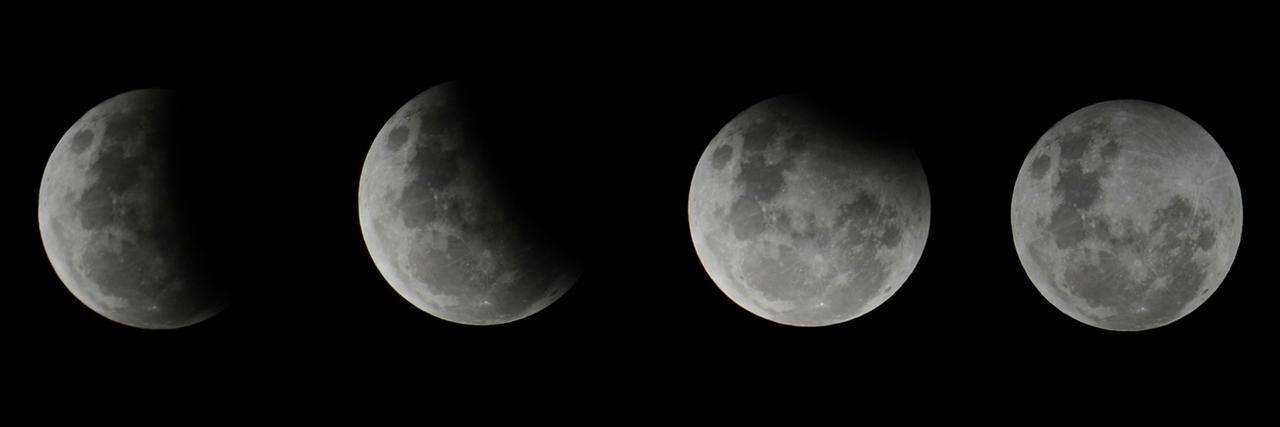 Partial lunar eclipse by Shutter-Shooter