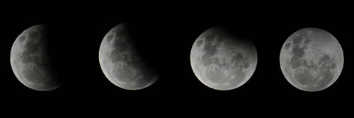Partial lunar eclipse by Shutter-Shooter