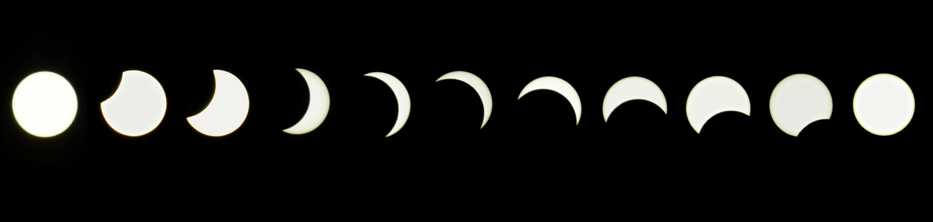 Partial Solar Eclipse by Shutter-Shooter