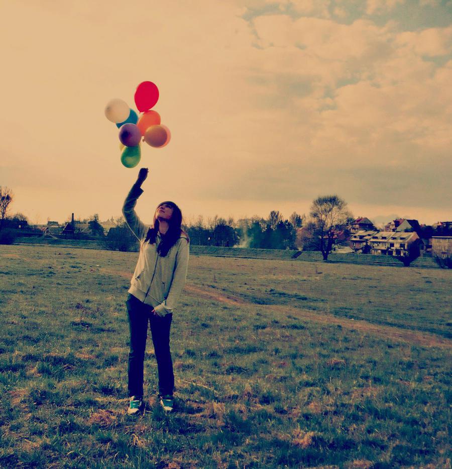 retro balons by huhek