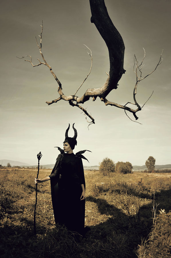 maleficent by huhek