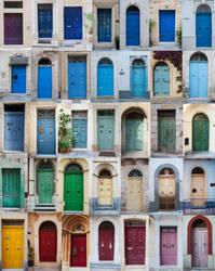 Malta, Gozo Doors