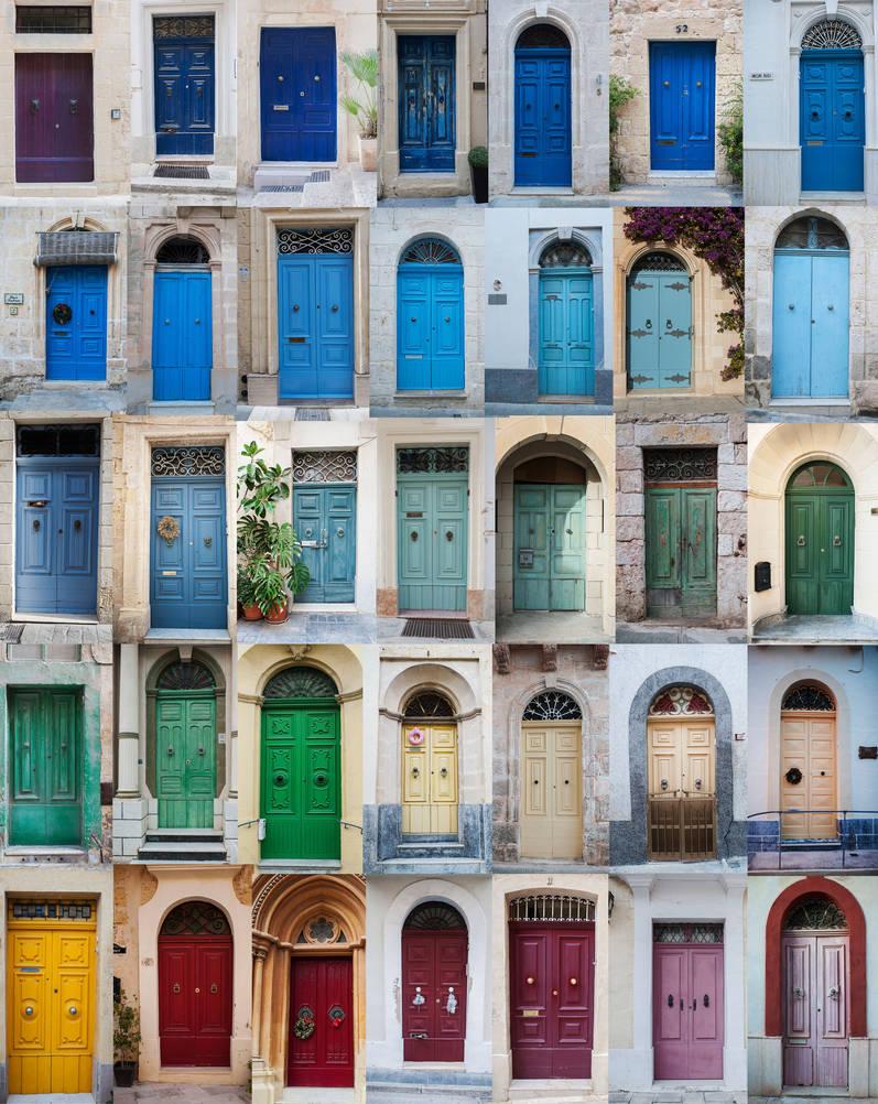 Malta, Gozo Doors by huhek