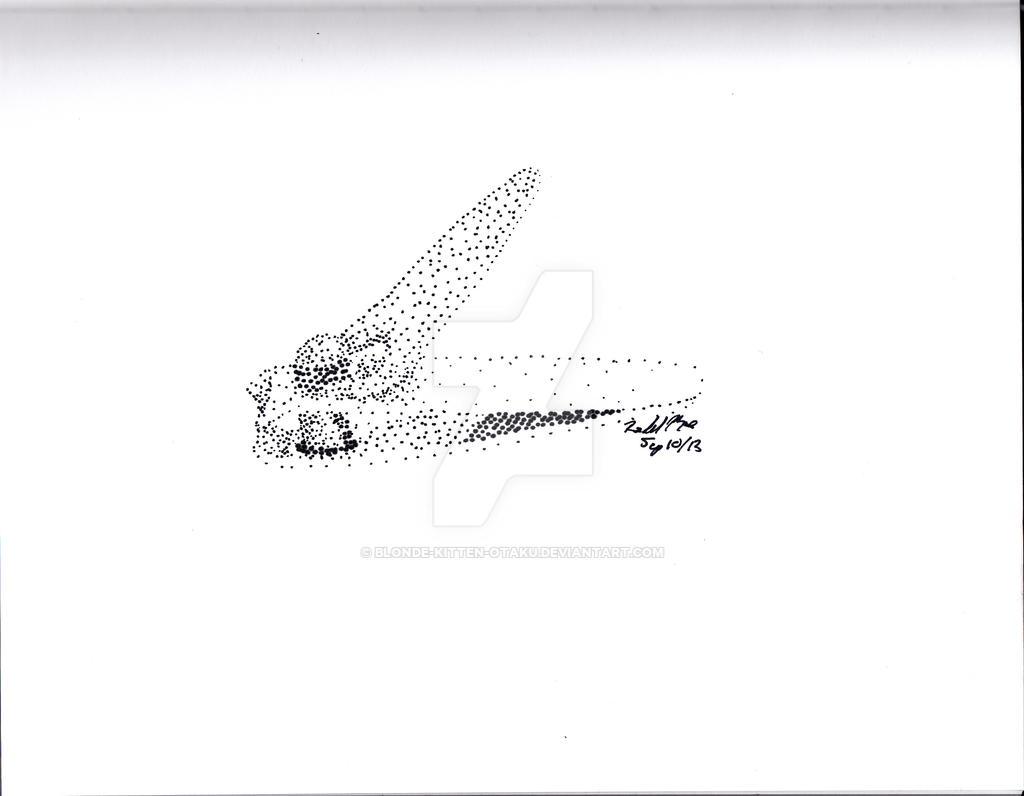 Nail clippers in dot art by blonde kitten otaku on DeviantArt