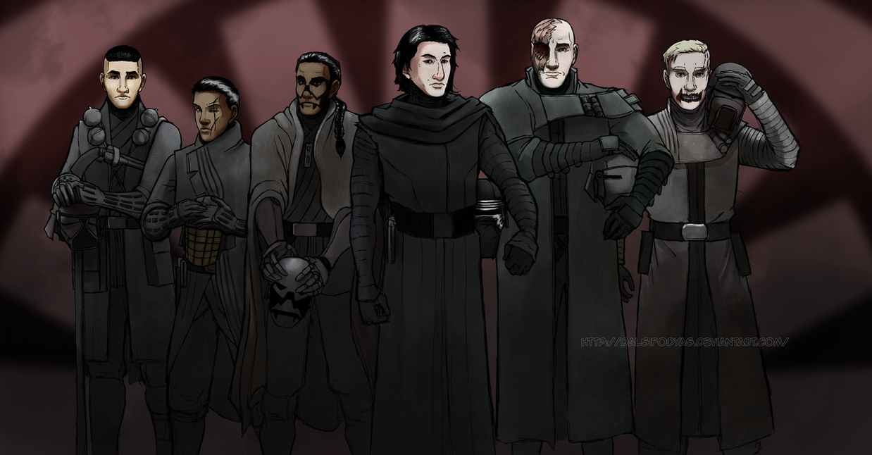 Knights of Ren Helmless by DalSifoDyas
